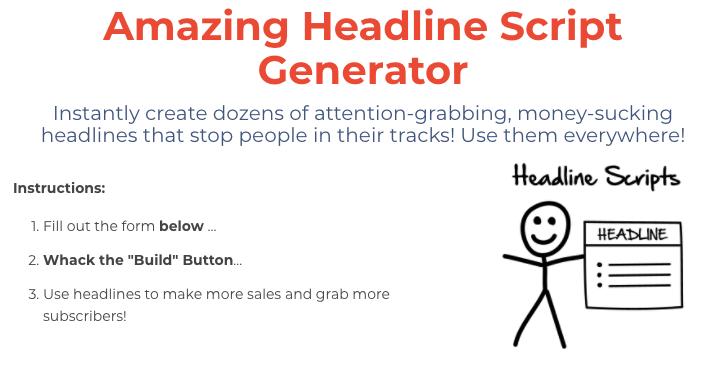 Headline Generator Script