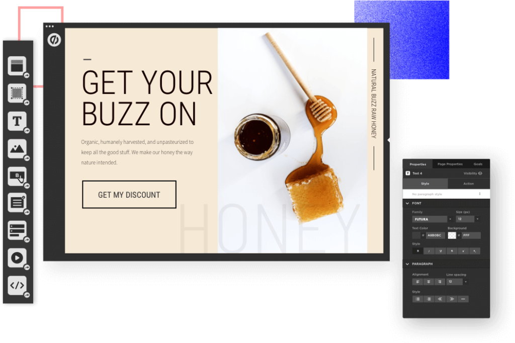 Unbounce pages